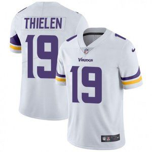 Vikings Adam Thielen White Jersey